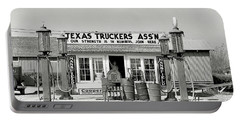 Edcouch Texas Gas Station 1939 Portable Battery Charger