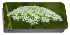 Edge Of Queen Anne's Lace Portable Battery Charger