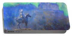 Edinburgh Castle Horse Statue Portable Battery Charger
