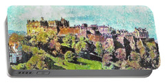 Edinburgh Castle Skyline No 2 Portable Battery Charger