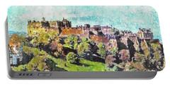 Edinburgh Castle Skyline No 2 Portable Battery Charger
