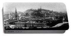 Edinburgh From Castle Portable Battery Charger