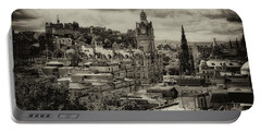 Portable Battery Charger featuring the photograph Edinburgh In Scotland by Jeremy Lavender Photography