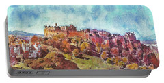 Edinburgh Skyline No 1 Portable Battery Charger by Richard James Digance