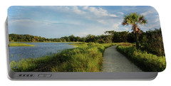 Portable Battery Charger featuring the photograph Edisto by Jessica Brawley