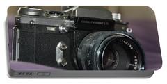 Portable Battery Charger featuring the photograph Edixa Prismat L T L by John Schneider