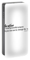 Education #minimalism Portable Battery Charger