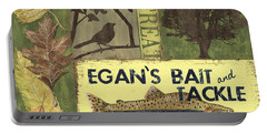 Egan's Bait And Tackle Lodge Portable Battery Charger