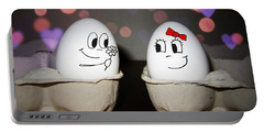 Egg Photographs Portable Battery Chargers