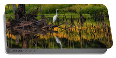 Egret Art  Portable Battery Charger