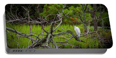 Egret At Pine Knoll 2 Portable Battery Charger