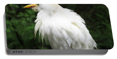 Egret Feeling Ruffled Portable Battery Charger