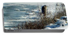 Egret Frozen Lake Portable Battery Charger