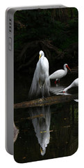 Egret Reflection Portable Battery Charger