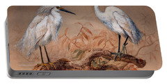 Egrets Portable Battery Charger