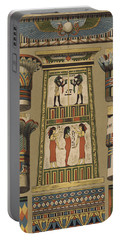 Egyptian, Architecture And Painting Portable Battery Charger