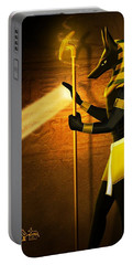 Egyptian God Anubis Portable Battery Charger