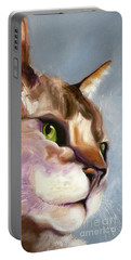 Egyptian Mau Princess Portable Battery Charger