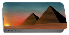Egyptian Pyramids Portable Battery Charger