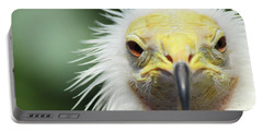 Egyptian Vulture Portable Battery Charger by David Stasiak
