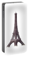 Eiffal Tower, Paris, France Portable Battery Charger