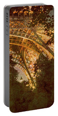Paris, France - Eiffel Oldplate II Portable Battery Charger