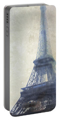 Eiffel Tower Portable Battery Charger by Catherine Alfidi