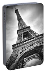 Eiffel Tower Dynamic Portable Battery Charger by Melanie Viola
