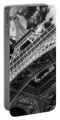 Eiffel Tower Infrared Abstract Portable Battery Charger