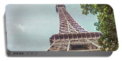 Eiffel Tower, Paris, France Portable Battery Charger