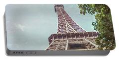 Eiffel Tower, Paris, France Portable Battery Charger