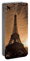 Eiffel Tower Sunset Portable Battery Charger