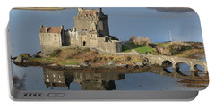 Eilean Donan Castle Reflections Portable Battery Charger