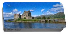 Eilean Donan Castle - Sct671252 Portable Battery Charger