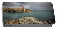 Eilean Glas Lighthouse, Western Isles. Portable Battery Charger
