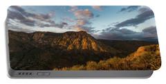 El Cajon Mountain Last Light Portable Battery Charger