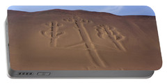 Portable Battery Charger featuring the photograph El Candelabro Peru by Aidan Moran
