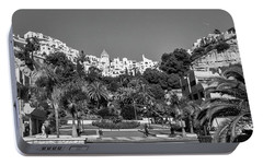 El Capistrano, Nerja Portable Battery Charger by John Edwards