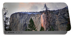 El Capitan Glowing Horsetail Falls Portable Battery Charger
