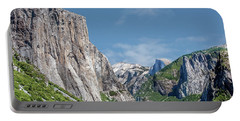 El Capitan, Three Brothers And Half Dome Portable Battery Charger