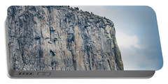 El Capitan Up Close And Personal From Tunnel View Yosemite Np Portable Battery Charger