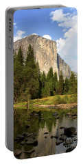 Portable Battery Charger featuring the photograph El Capitan Yosemite National Park California by Steven Frame
