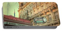 El Floridita Havana Cuba Portable Battery Charger