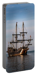 Portable Battery Charger featuring the photograph El Galeon Andalucia by Dale Kincaid
