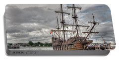El Galeon Andalucia In Portsmouth Portable Battery Charger
