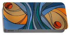 el MariAbelon blue Portable Battery Charger