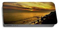 El Matador Beach Sunset Portable Battery Charger