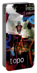 El Topo Film Poster  Portable Battery Charger