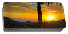 El Yunque Mountain Sunrise Portable Battery Charger