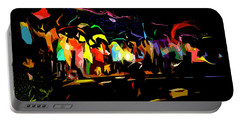 Portable Battery Charger featuring the digital art Elation by Gina Harrison